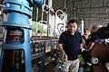 Rodrigo Duterte leads the inspection of the seized shabu laboratory in Arayat, Pampanga on September 27 (3).jpg