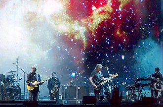 Perth Oval - Roger Waters performing on his Dark Side Of The Moon Live tour in 2007