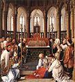 Rogier van der Weyden - Exhumation of St Hubert - WGA25714.jpg