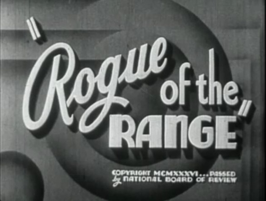 Rogue of the Range