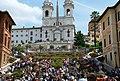 Roma.Trinità dei Monti da Piazza di Spagna. Maggio 2010 - panoramio.jpg