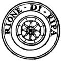 Rome rione XII ripa logo.png