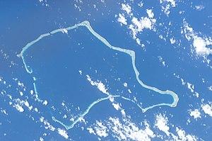 Rongelap Atoll - NASA astronaut photography image of Rongelap Atoll.