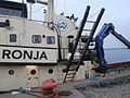 Ronja Gangway Port Noblessner Tallinn 12 November 2015.JPG