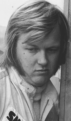 Ronnie Peterson - Peterson at Hockenheim in 1971 for a F2 race.