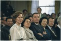 Rosalynn Carter, Madame Zhuo Lin and Walter Mondale during the Sino-American signing ceremony. - NARA - 183287.tif