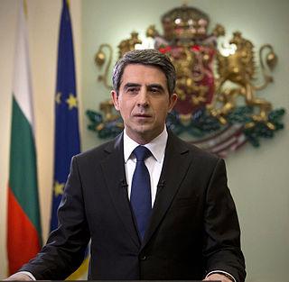 Rosen Plevneliev Former President of Bulgaria