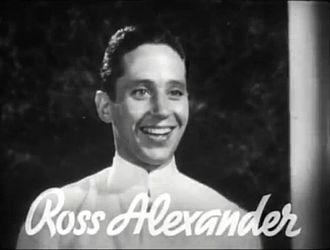 Ross Alexander - Ross Alexander in the trailer for Shipmates Forever in 1935