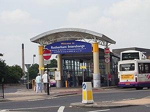 Rotherham Interchange - Image: Rotherham Interchange geograph.org.uk 464173