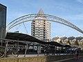 Rotterdam, station Blaak + het Potlood + de kubuswoningen foto3 2010-11-28 12.08.JPG