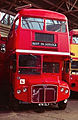 Routemaster coach RMC1476 (476 CLT), Routemaster Heritage Trust open day, Twickenham bus garage, 1993.jpg