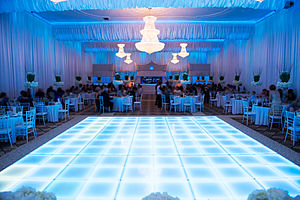 Wedding reception - Banquet Hall Wedding Reception