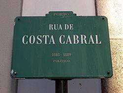 rua costa cabral porto mapa Rua de Costa Cabral – Wikipédia, a enciclopédia livre rua costa cabral porto mapa