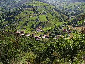 Liérganes - View of Rubalcaba town, in Liérganes.