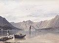 Rudolf von Alt - Aussicht gegen Mula und Dobrota bei Cattaro - 1841.jpg