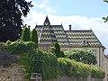Rue du Château, Beaune - Le Château de Beaune - colourful roof tiles (35700925625).jpg