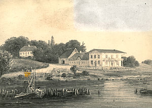 Rungsted - Rungsted Inn in the 1839s
