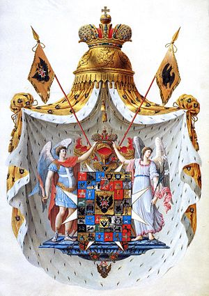 Great coat of arms of the Russian Empire (1800)