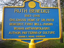 Home of Dr. Ruth Benedict, Norwich, NY