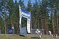 Ruuhimäki stage finish line.JPG