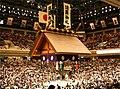 Ryogoku Kokugikan Tsuriyane 05212006.jpg