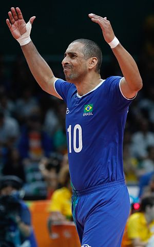 Sérgio Santos - Serginho at the 2016 Olympics