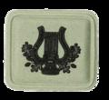 SANDF Qualification SACB Principle Musician badge embossed.png