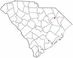 Location of Quinby in South Carolina