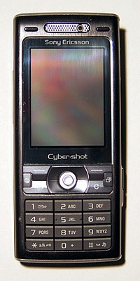 Image illustrative de l'article Sony Ericsson K800i