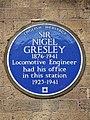 SIR NIGEL GRESLEY 1876-1941 Locomotive Engineer had his office in this station 1923-1941.jpg