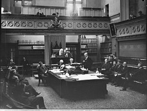 New South Wales Legislative Assembly - Image: SLNSW 20846 AUP Greater Newcastle bill being passed
