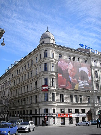 Social Democratic Party of Austria - SPÖ party headquarters in Vienna