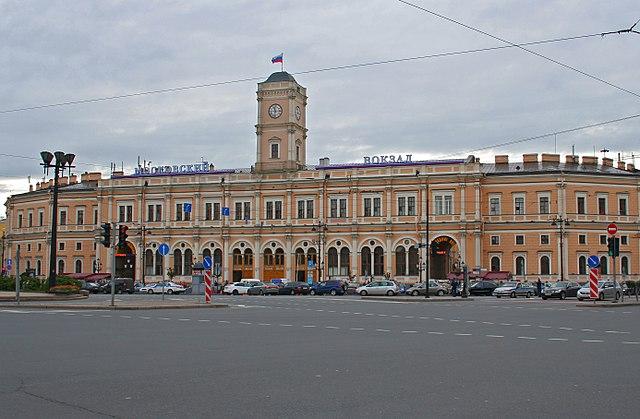 Moskauer Bahnhof