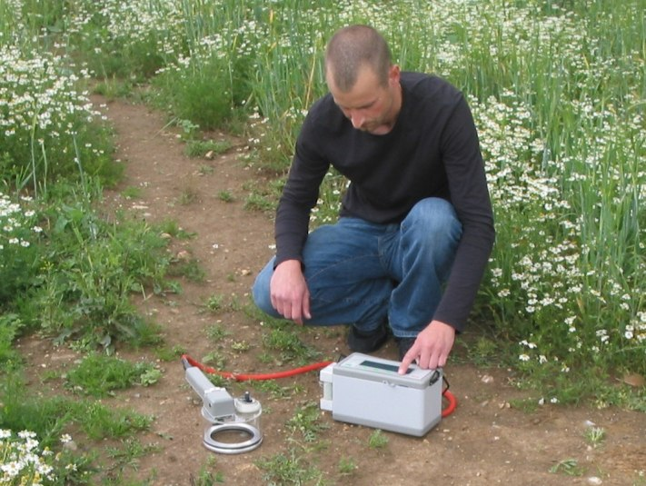 SRS2000 soil respiration system