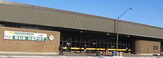 Saskatchewan Transportation Company - Saskatoon Depot