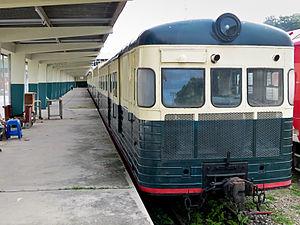 Sabah State Railway - The North Borneo Railway Tour Line train.