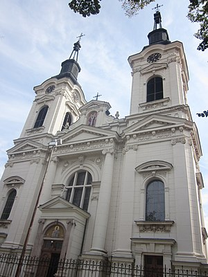Metropolitanate of Karlovci - Serbian Orthodox Cathedral of Saint Nicolas in Sremski Karlovci, built from 1758 to 1762: cathedral church of the Metropolitanate