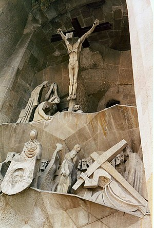 Josep Maria Subirachs - Passion Façade, Sagrada Família, Barcelona.