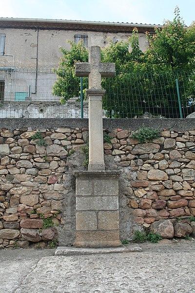 Saint-Étienne-Estréchoux (Hérault) - croix (1770).