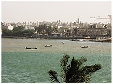 Saint-Louis,Senegal. Senegal River.Shoreline.jpg
