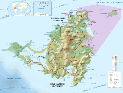 Saint-Martin Island topographic map-fr.svg