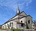 Saint-Ouen-lès-Parey, Église Sainte-Ode et Sainte-Trinité.jpg