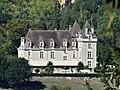 Saint-Vincent-de-Cosse château Monrecour depuis Milandes.jpg