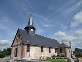 The church in Saint-Ouen-de-Thouberville