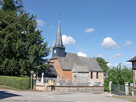 The church in Saint-Symphorien