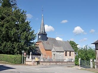 Saint-Symphorien, Eure - Image: Saint Symphorien église 1