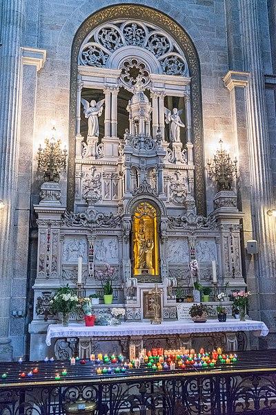 Saint Anne Auray - Autel Staint Anne