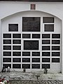 Saint Anthony church in Biała Podlaska - Memorial plaques and plates - 03.jpg