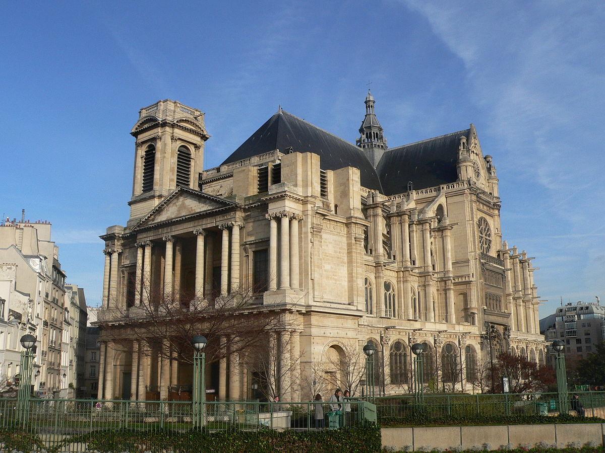 Chiesa di saint eustache wikipedia for Domon saint eustache