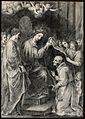 Saint Ildephonsus. Pencil drawing. Wellcome V0033473.jpg